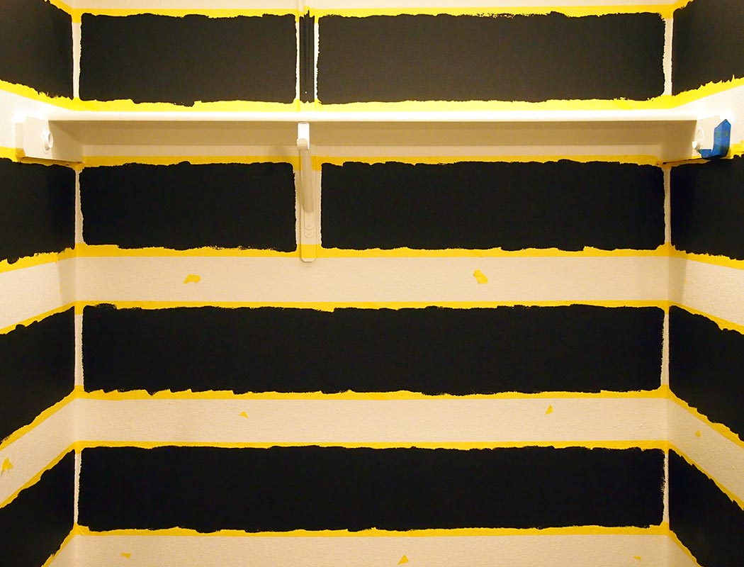 Striped Walls - Perfect Paint Lines | whirl of color